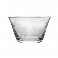 Visla Glass 'Poema' Decorated Bowl